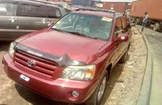 Neat Foreign used Toyota Highlander 2008