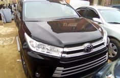 Foreign Used Black Toyota Highlander 2018 Model SUV for Sale