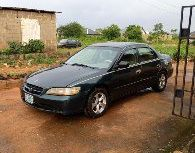 Nigerian Used Honda Accord Baby Boy 2000 Model Green