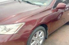 Red Nigerian Used Lexus ES 350 2007 Model for Sale