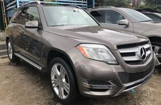Gold Foreign Used Mercedes Benz GLK350 2014 Model