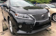 Foreign Used Lexus RX 2012 Model Black for Sale
