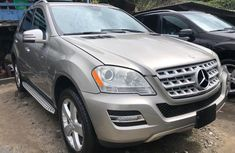 Gold Foreign Used Mercedes Benz ML350 2008 Model