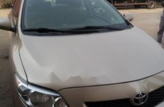 Foreign used Toyota Corolla 2009 model Duty fully paid
