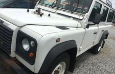 Neat Nigerian used 1990 Land Rover Defender