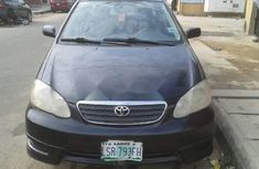 Well Maintained Nigerian used 2007 Toyota Corolla