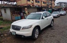 Barely Nigeria Used 2006 Model Infiniti FX35 White