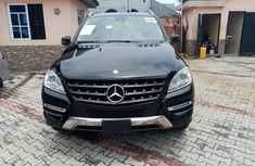 Foreign used 2013 Mercedes ML 350