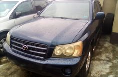 Foreign Used Toyota Highlander 2003 model
