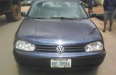 Neat Nigerian used 2001 Volkswagen Golf R Manual gear