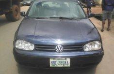 Neat Nigerian used 2001 Volkswagen Golf R Manual gear