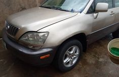 Clean Nigerian Used 2002 Lexus RX300(First Body)