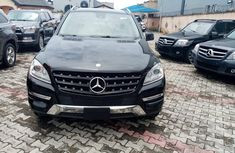 Black Tokunbo Mercedes Benz ML350 2013 Model