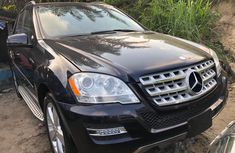Black Used Mercedes Benz ML350 2008 Model for Sale