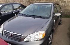 Grey Tokunbo Toyota Corolla Automatic 2005 Model for Sale