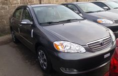 Grey Foreign Used Toyota Corolla 2006 Model for Sale