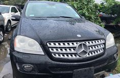 Black Tokunbo 2008 Model Mercedes Benz ML350 for Sale