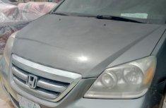 Nigeria Used Honda Odyssey 2006 Model Grey for Sale