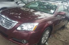 Slightly Foreign Used Toyota Avalon 2007 Model Red