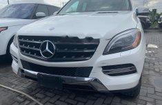 Tokunbo Mercedes-Benz ML350 2013 Model White
