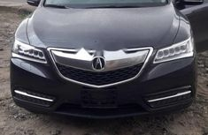 Foreign Used Acura MDX 2017 Model Black