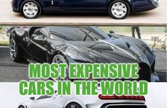 10 most expensive cars in the world 2019 (September), prices & owners