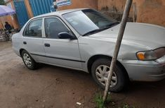 Nigerian Used Toyota Corolla 1999 Model Silver