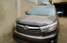 Tokunbo Used Toyota Highlander 2016 Model Brown