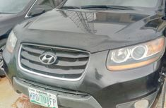 Nigeria Used 2008 Model Hyundai Santa Fe Black
