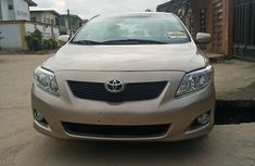 Clean Foreign Used Toyota Corolla 2008 Gold for Sale