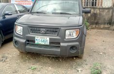 Nigeria Used Honda Odyssey 2003 Model Grey for Sale