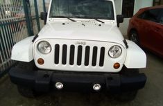 A clean Jeep Wrangler 2013 model for sale.