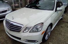 Neat Foreign used Mercedes Benz E350 2012