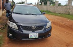 Black 2010 Nigeria Used Toyota Corolla for sale in Lagos