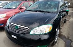 Black Foreign Used Toyota Corolla Automatic 2007 Model for Sale