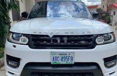 Nigeria Used Land Rover Range Rover Sport 2016 Model White