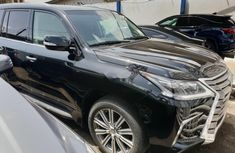 Foreign Used Lexus LX 2016 Model Black