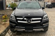 Foreign Used Mercedes-Benz GL-Class 2014 Model Gold