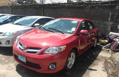 Super Clean Tokunbo 2013 Toyota Corolla