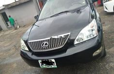 Nigeria Used Lexus RX 2005 Model Black
