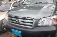 Nigeria Used Toyota Highlander 2004 Model Green