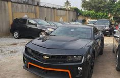 Nigerian Used Chevrolet Camaro 2012 Model Black