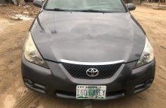 Nigeria Used Toyota Solara 2007 Model Blue