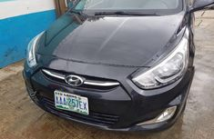 Nigeria Used Hyundai Accent 2014 Model Black