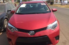 Foreign Used Toyota Corolla 2014 Model Red