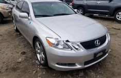 Foreign Used Lexus GS 2007 Silver
