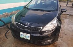 Nigerian Used Kia Rio 2014 Model Black
