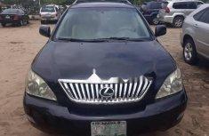 Black Nigerian Used Lexus RX 2004 Model