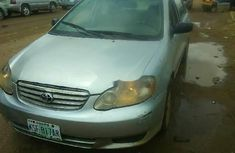 Well Maintained Nigerian used Toyota Corolla 2003