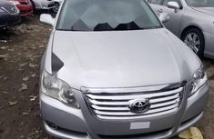 Foreign Used Toyota Avalon 2008 Model Silver
